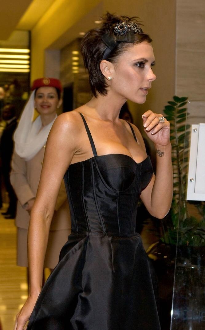 Victoria Beckham; Dubai egyik szállodájában fotózták ...