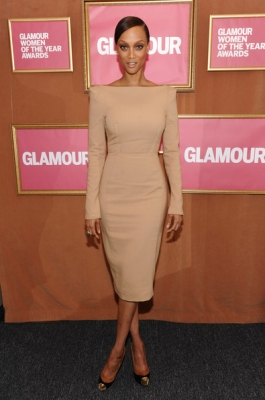 Tyra Banks - Glamour Women of the Year