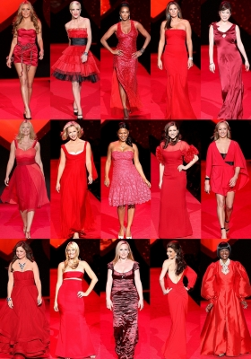 THE HEART TRUTH'S RED DRESS COLLECTION 2009.