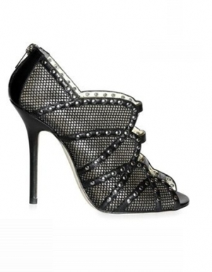 Jimmy Choo - Studded Net Karina Sandals - 257 000 HUF