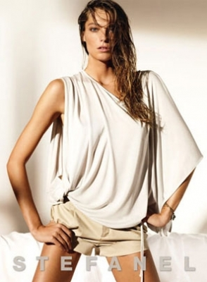 Daria Werbowy for Stefanel