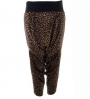ANDREA CREWS - Cheetah print harem pants
