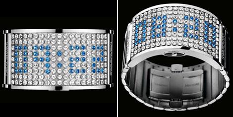 A Swarovski D Light fantázianevű órája. D Light c35cc3c062