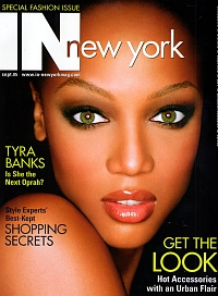 Tyra Banks - In New York