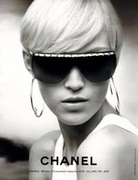 Anja Rubik - Chanel napszemüveg hirdetés