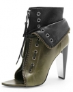 Wang - Freja Lace Up Boots